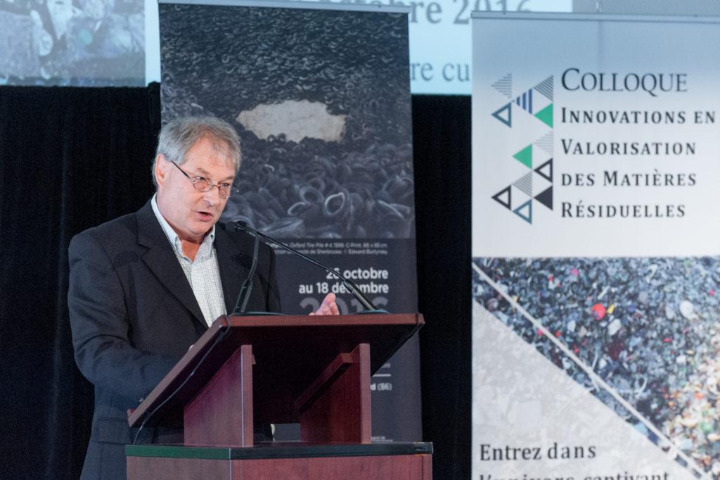 Jean-Jacques Caron, commissaire au développement du parc éco-centre chez Valoris et Directeur par intérim du CABIE
